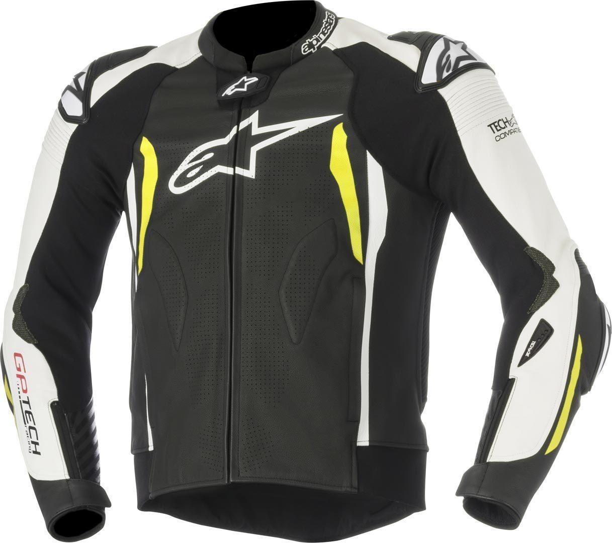 Alpinestars GP Tech V2 Leather Jacket TECH-AIR Compatible